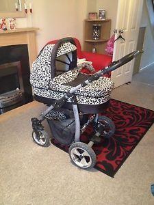 Leopard Print Pram Pushchair Car Seat In Baby Pushchairs Prams Accs
