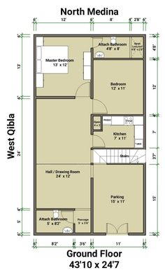 Ground Floor, House Plans, Floor Plans, House Design, Flooring, How To Plan, Wood Flooring, House Floor Plans, Architecture Design