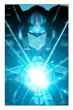 Transformers - Autobots - Optimus Prime holding the Matrix of Leadership