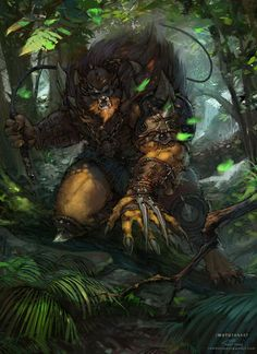 Masters of The Universe Fanart BEASTMAN by Okmer on DeviantArt___©__!!!!