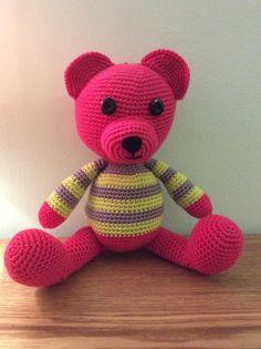Amigurumi bear by AMARHILO on Etsy