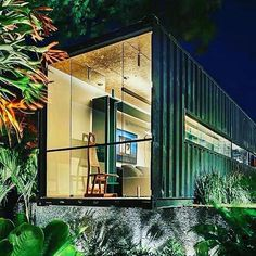 ⌂ The Container Home ⌂ Casa Cor Minas #casacontainer #containerhouse