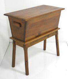on Feb 2015 Primitive Furniture, Primitive Antiques, Farmhouse Furniture, Farmhouse Decor, Dough Box, Shaker Furniture, Small Woodworking Projects, Cottage Living, Wood Bowls