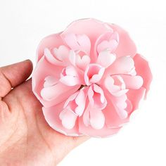 Pink Heirloom Peony Sugarflower cake topper perfect for cake decorating fondant cakes. Wholesale sugarflowers. Caljava