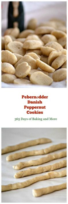 Pebernødder is a tiny Nordic cookie traditionally served at Christmastime, flavored with spices and pepper. The Danish use white pepper and mace in theirs.