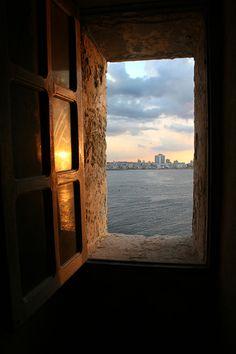 Havana from old  window - La Habana, La Habana