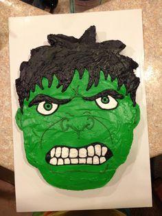 Incredible Hulk Cake Custom Cakes by Devanys Designs Pinterest