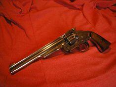s&w shofield 1875 nickel Gun Holster, Holsters, Custom Revolver, Revolvers, Old West, Pistols, Walking Dead, Firearms, Hand Guns