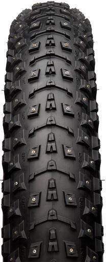 45NRHT Dillinger 5 studded fatbike tire 2 http://www.big-fat-bike.de/fatbike-reifen/