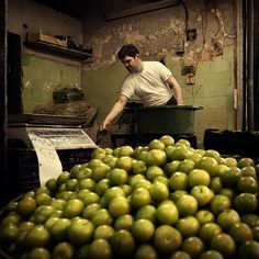 the Greengrocer, Aleppo, Syria.