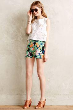 High-Waisted Shorts - Flattering Bottoms