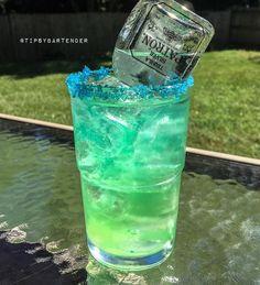 PATRON DEW 1/2 oz. (15 ml0 Island Punch Pucker 1/2 oz. (15 ml) Lemoncello 3 oz. (90 ml) Mountain Dew 1/2 oz. (15 ml) Lime Juice Mini Patron Bottle
