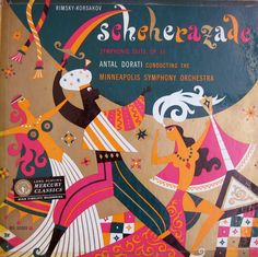 Schehezerade/Arabian Nights Retro Album Cover  Illustrator: George Maas