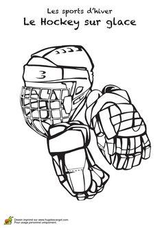 17 meilleures images du tableau coloriage hockey printable coloring pages coloring pages et - Dessin de hockey ...