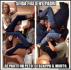 SFIDA FIGLIE VS PADRI http://www.ilpeggiodellarete.it/sfida-figlie-vs-padri/