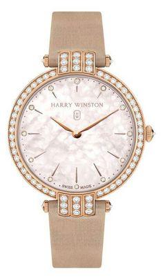 Harry Winston Rose Gold Watches, Quartz Watches, Mother Pearl, Quartz Jewelry, Diamond Jewelry, Going For Gold, Jewelry Watches, Women's Watches, Wrist Watches