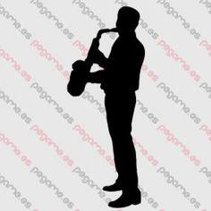 Pegame.es Online Decals Shop  #music #live #play #concert #saxophone #vinyl #sticker #pegatina #vinilo #stencil #decal