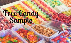 It doesn't get better than FREE candy! Get your free sample!