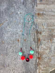 Colorful Necklaces for Girls via Mr P blog - Studio Deseo