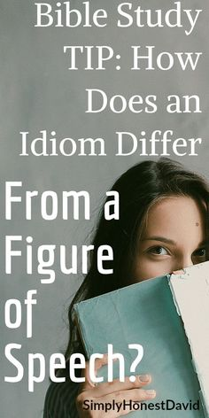 Bible Study Tip: Do you know the difference between an idiom and figure of speech? Bible Study Plans, Bible Study Tips, Bible Lessons, Bible Studies For Beginners, Reading For Beginners, Christian Devotions, Christian Quotes, Figure Of Speech, Reading Tips