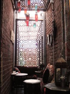 Bohemian and fabulously ethnic interior - Boucla cafe Subiaco