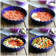 Ratatouille is a mix of fresh summer vegetables cooked in a light tomato sauce. It makes a wonderful side dish or quick dinner. Vegan and gluten-free!