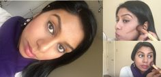 How to contour a pregnant, puffy face