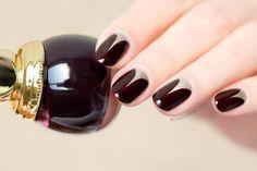 short nails, elegant nail art