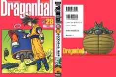 Dragon Ball Kanzenban Volume #28 - Front/Back Cover