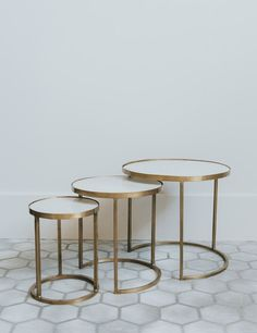 Darbuka Brass Coffee Table FURNITURE Pinterest Coffee Tables - Marble and brass end table