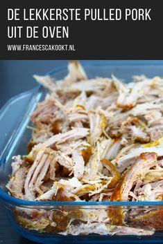 Pulled Pork Wrap, Pulled Pork Oven, Pulled Pork Nachos, Pulled Beef, Pull Pork, Pork Wraps, Soft Tacos, Good Food, Yummy Food