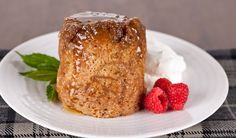 Cooked in a microwave oven, this delicious individual cake is surprisingly moist and tender.