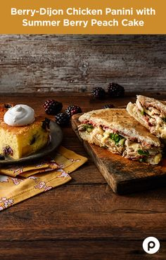If there's a way to work fresh blackberries into a hot, delicious panini, Publix Aprons will find it. Make a little extra Berry-Dijon to enjoy on all your favorite sandwiches.