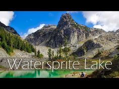 Watersprite Lake in Squamish is a crystal clear, turquoise lake framed by dramatic peaks. It is one of the most awe-inspiring hikes around. Loch Lomond, Lakes, Vancouver, Trail, Hiking, Crystal, Turquoise, Mountains, Outdoor
