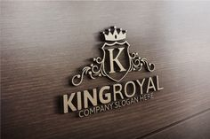 King Royal Logo by josuf on Creative Market