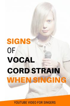 Vocal Cord Strain When Speaking Or Singing (Avoid Vocal Damage) Vocal Warm Up Exercises, Singing Exercises, Learn Singing, Singing Tips, Vocal Training, Vocal Lessons, Music Classroom, Classroom Ideas, Vocal Coach