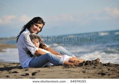 sweet mother/daughter image! Need to do this when we go to the beach this summer