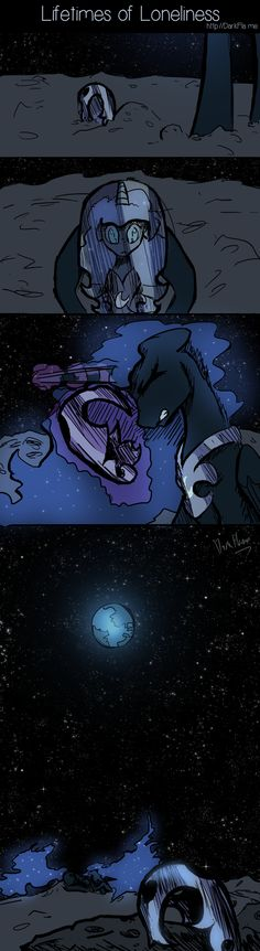 Lifetimes of Loneliness by DarkFlame75.deviantart.com on @deviantART