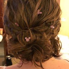 Disney World Wedding, Disney Inspired Wedding, Disney Weddings, Themed Weddings, Tangled Wedding, Fairytale Weddings, Disney Hairstyles, Wedding Hairstyles, Ear Hair