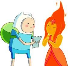 Adventure Time Challenge Day 25: My other favorite pairing is Finn and Flame Princess!