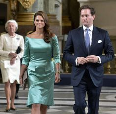 5/19/2013 Princess Madeleine and Chris O'Neil attend the publishing of the banns ahead of their royal wedding June 7-8