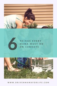 Need a little less CRAZY in your mama life? Here's 6 simple ways to set yourself up for a sane week!