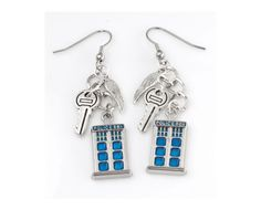 Hey, I found this really awesome Etsy listing at https://www.etsy.com/listing/216613172/doctor-who-tardis-charm-earrings-with