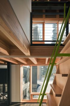 Kicking Horse Residence   / Bohlin Cywinski Jackson  + Association with Bohlin Grauman Miller Architects