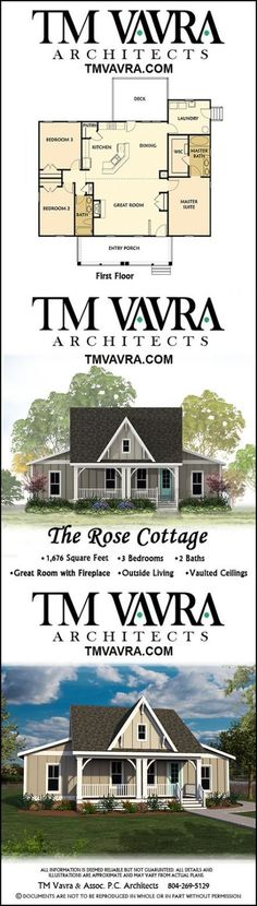The Rose Cottage is a charming small farmhouse home design that conveniently fits all of your needs on a single level. In square feet, this house plan includes 3 bedrooms and 2 bathrooms, plus a Walk In Closet Small, Walk In Closet Design, Master Suite, Master Closet, Closet Layout, Outside Living, Farmhouse Plans, Farmhouse Trim, Farmhouse Windows