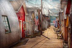Mike Savad - City - Canandaigua NY - Shanty town