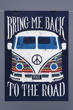 Poster Back To The Road
