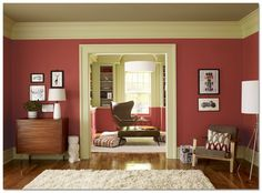 Paint Color Is Benjamin Moore S Heritage Red Quot The