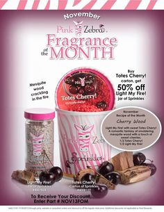 Scent of the month Nov