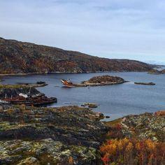 Кольский залив #north #murmansk #autumn #nature by mir7sea